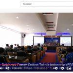 Video: Deklarasi Forum Dekan Teknik Indonesia (FDTI)