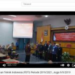 Video : Pelantikan Pengurus Forum Dekan Teknik Indonesia
