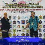 Kongres I & Seminar Nasional FDTI di Bali
