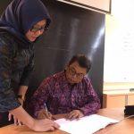 Penandatanganan Akta Notaris Perkumpulan Forum Dekan Teknik Indonesia (FDTI)