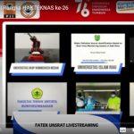 Menteri Nadiem Saksikan Pameran Virtual Unhas, UGM, ITS, Unri dan Uniba pada Harteknas 2021